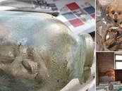 """بالصور.. روسي يكتشف جثث """"أجنة"""" بأوعية زجاجية داخل مكان مهجور"""