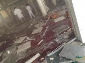 """شهود عيان: منفذ تفجير """"القديح"""" تسول بزي باكستاني وتردد على المسجد كثيراً"""