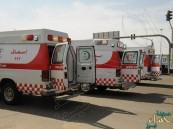 حادث تصادم يصيب 4 أشخاص بطريق (الأحساء – خريص)
