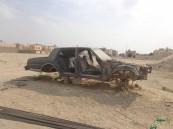 بالصور.. إزالة 5500 مركبة تالفة من طرقات #الأحساء.. ومصادرة الهياكل