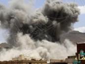 التحالف يقصف مخازن الأسلحة وتجمعات #الحوثي وصالح في #صنعاء