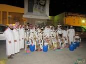 """بالصور.. """"العيون"""" التطوعي يدشن حملة لتنظيف المساجد استعداداً للشهر الكريم"""