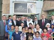 إطلاق اسم الملك عبدالله على مدخل أكبر مستشفى سرطان أطفال في مصر