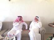 بالصور.. الأمير عبدالعزيز بن جلوي يعزي رجل الأعمال عبدالعزيز الموسى