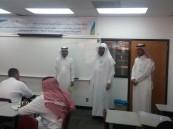 """""""بالغنيم"""" يتفقد الفصل الصيفي بمدرسة الإمام الطحاوي الثانوية"""