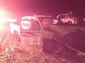 بالصور… حادث دموي يُصيب اثنان على طريق صناعية #الأحساء