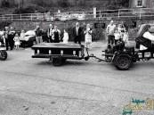 بالصور.. عروس بريطانية تحضر زفافها داخل تابوت