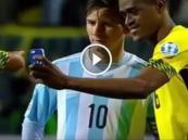 بالفيديو.. سيلفي لاعب جامايكا مع ميسي يخطف الأنظار عبر تويتر