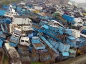 """شاهد… صور صادمة لمواقع دفن نفايات """"المركبات"""" في الصين"""