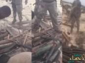 بالفيديو.. قوات التحالف: العثور على مخابئ أسلحة لميليشيات الحوثي بالجزر الحدودية