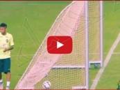 بالفيديو… نيمار يسجل هدف بطريقة رائعة بتدريبات البرازيل تحضيراً لكوبا أمريكا