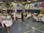"""بالصور.. بحضور """"المديرس"""" تعليم الأحساء يقيم """"الغبقة الرمضانية"""" بمشاركة الآباء والأبناء"""