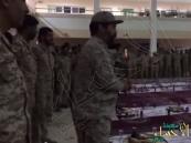 بالفيديو.. حديث ضابط سعودي لأفراد الجيش الإماراتي يثير إعجاب المغردين