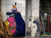 بالصور…وحوش ملونة في مباني ألمانيا المهجورة