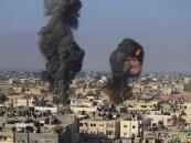 طائرات الأحتلال الأسرائيلي تقصف مواقع لحماس في قطاع غزة