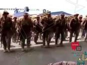 """شاهد لحظة توجه"""" الكوماندوز"""" السعودي إلى عدن لحماية الحكومة اليمنية"""