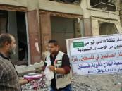 """لأول مرة في #الأحساء… أهالي """"العيون"""" يفطّرون أبناء """"غزة"""" في فلسطين"""