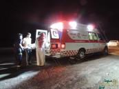 """بالصور… في #الأحساء: """"سائب"""" تقتل شخص و تصيب آخر في حادث مأساوي"""