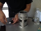 بالفيديو… شمعة وقليل من الماء لشحن الهاتف المحمول