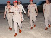 بالفيديو.. السلطان قابوس بالزي العسكري في ظهوره الأول منذ 8 أشهر