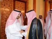 بالصور.. أمير منطقة نجران يستقبل المعزّين في وفاة شقيقه
