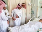 """""""العبد العالي"""" يشارك المرضى المنومين فرحة العيد"""
