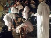 """بالفيديو والصور… في #الأحساء حادث كارثي يحصد 7وفيات و 27 مصاب """"مرفق الأسماء"""""""