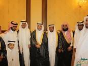 """أسرة """"الراجح"""" تحتفل بزفاف نجلها """"عمر"""""""