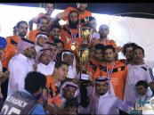 """""""العلي"""" يُسلم كأس بطولة الفضل الرمضانية لـ""""كاظمة"""" بعد هزيمة """"المنظم"""""""