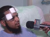 """بالفيديو … الناجون من حادث الحافلة العمانية يروون تفاصيل الحادث لـ""""الأحساء نيوز"""""""
