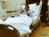 وليد باخشوين لاعب الاهلي يجري عملية جراحيه ناجحه