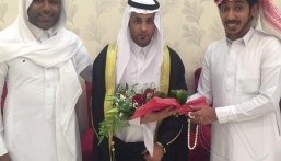 """عائلة الرمضان تحتفل بزفاف نجلها """"قاسم"""""""