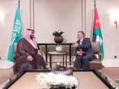 بيان مشترك بمناسبة زيارة سمو ولي ولي العهد للأردن