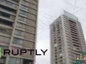 بالفيديو… تشيلي يسقط من الطابق السابع عشر ويبقى حياً !
