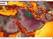 """""""إيران"""" تشتعل بحرارة الطقس بعد وصولها لـ 72 درجة مئوية !"""
