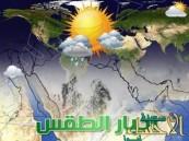 الطقس غداً: توقعات بأمطار رعدية مصحوبة بنشاط في الرياح السطحية
