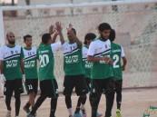 """بعد مباراة صعبة وقوية.. """"اليرموك"""" يتغلب على """"شعلة هجر"""""""