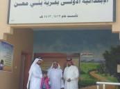 مركز جمعية البر ببلدة بني معن تقدم هدايا للطالبات في يومهن الأول بالمدرسة