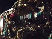 الجهات تحدد مسؤولية حادث حافلة العمانيين في #الأحساء