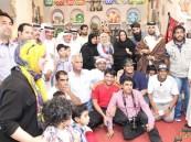 """بالصور… نجوم المسلسل البحريني """"طفاش"""" في جولة لمشاهدة معالم #الأحساء"""