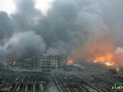 """بالفيديو والصور.. انفجاران هائلان يهزان تيانجين """"الصين"""" ويخلفان 750 بين قتيل وجريح"""