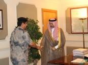 محافظ #الأحساء يستقبل العبدالقادر قائد قطاع حرس الحدود في سلوى