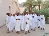 ميقات ذو الحليفة يشهد مغادرة ضيوف الرحمن إلى المشاعر المقدسة لأداء الحج