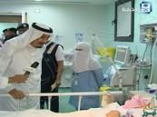 بالفيديو.. الملك سلمان يزور حاجة إيرانية مصابة .. والإخبارية تغرّد بالفارسية