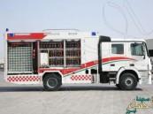 الهلال الأحمر يدشن أول عربة ذكية لإسعاف المصابين في الحج