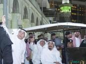 بالفيديو و الصور.. زيارة #الملك_سلمان لموقع الحادث أشاعت الاطمئنان في النفوس