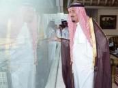 خادم الحرمين الشريفين يصل منى للإشراف المباشر على راحة الحجاج