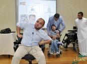 """ورشة عمل لتقنية """"الإجلاس"""" بجمعية الأشخاص ذوي الإعاقة بالأحساء"""