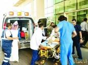 إخلاء مواطنة من #الإمارات لعلاجها بمستشفى الموسى التخصصي في #الأحساء