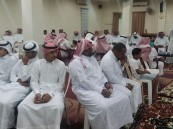 بالصور.. حفل معايدة أهالي قرية المنيزلة بالأحساء